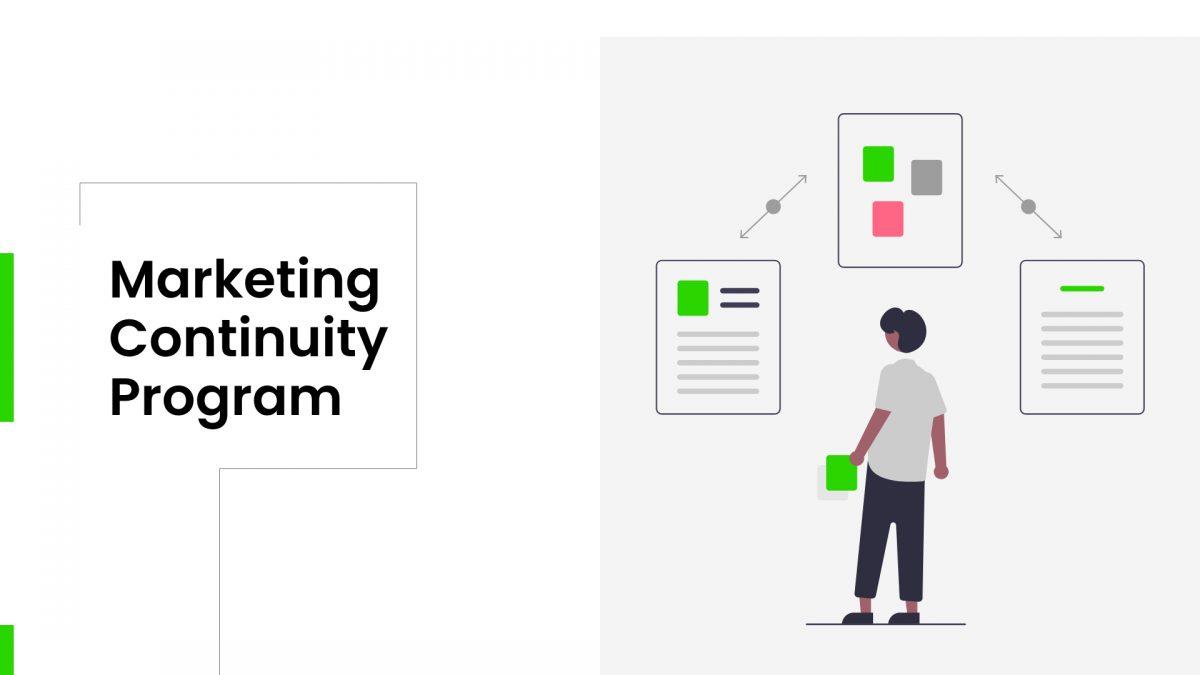 Marketing continuity program