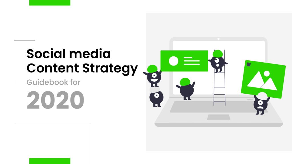 complete guidebook on how to create social media strategy and content