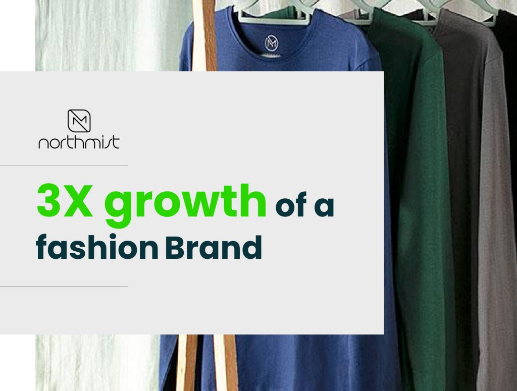 How a digital marketing agency in Bangalore helped a fashion brand to grow by 3X